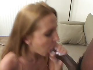 gorgeous blonde rides big black cock like a pro
