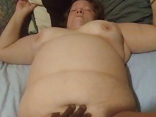 cumming with help 2