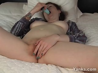 yanks nico kelley loves to cum
