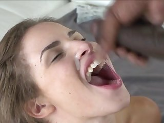 black guys feed blanched girls compilation